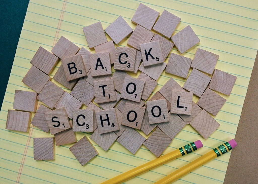 starting secondary school, back to school, transition, year 7, communication, support, valuing minds
